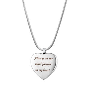 B106862 Forever In My Heart Memorial Necklace 1