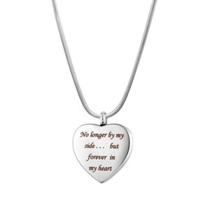 B106875 Forever In My Heart Memorial Necklace 1