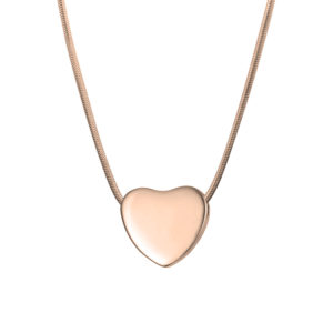 B126597 Classic Heart Shape Memorial necklace 1