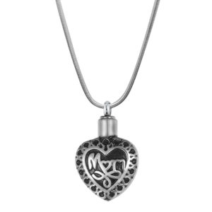 B86286 Dear Mom Heart Memorial Necklace 1