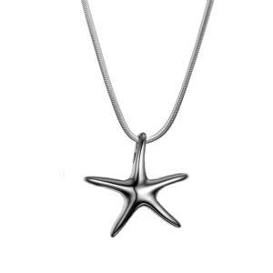 B87039 Star Fish Memorial NecklacePendant 1