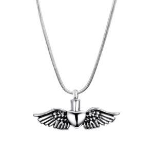 B87040 Soaring Heart Memorial Necklace 1