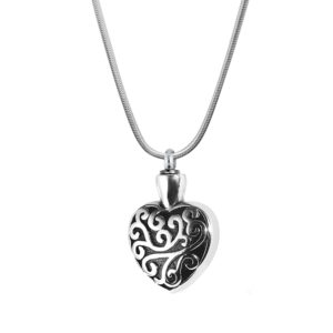B88133 Regalia Heart Memorial Necklace 1