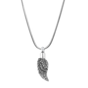 B89118 Angelic Wing Memorial Necklace 1