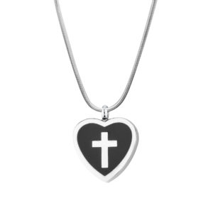 B90540 Cross My Heart Memorial Necklace 1