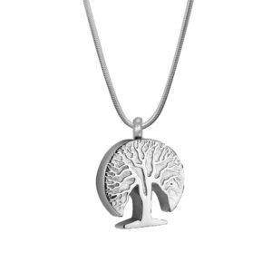 B90865 3D Tree of Life Memorial Necklace 1