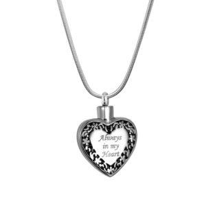 B96205 Always in My Heart Memorial Necklace 1