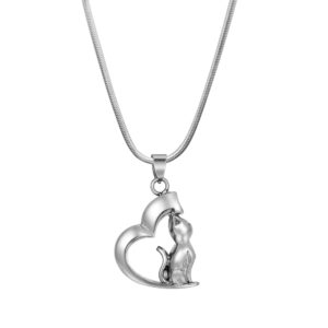 B97094 Loving Canine Heart Memorial Necklace 1