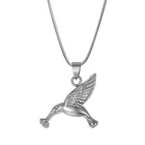 B97100 Premium Hummingbird Memorial Necklace 1