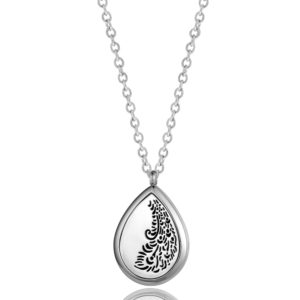 B101348 Feather Tear Essential Oil Necklace 1