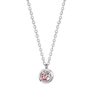 B104690 Flower Butterfly Mini Essential Oil Necklace 1