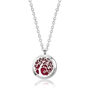 B105597 Silver Birch Essential Oil Necklace 1