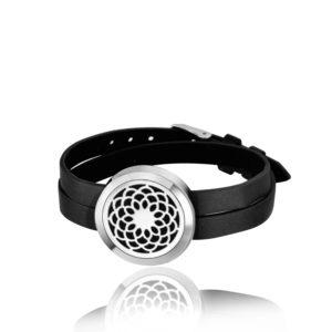 B116068 Dream Catcher Essential Oil Double Bracelet 1
